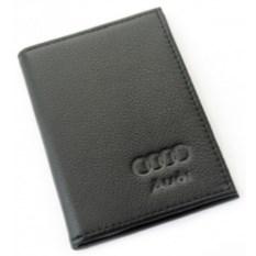 Бумажник для автодокументов с отделением для денег Audi