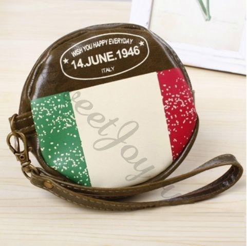 Кошелек для мелочи Round Flag – Italy