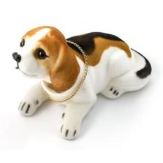 Фигурка-собака Кивающая бигль