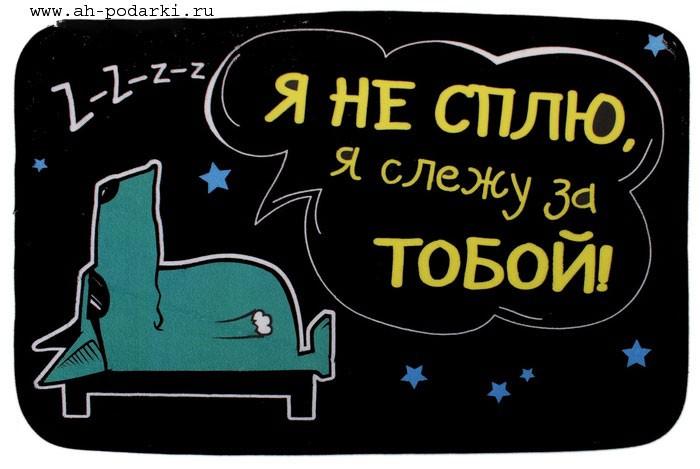 Коврик Я не сплю, я слежу за тобой