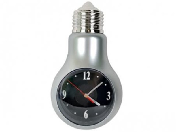 Настенные часы «Лампочка»