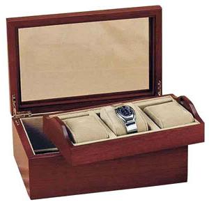 Шкатулка для хранения часов деревянная
