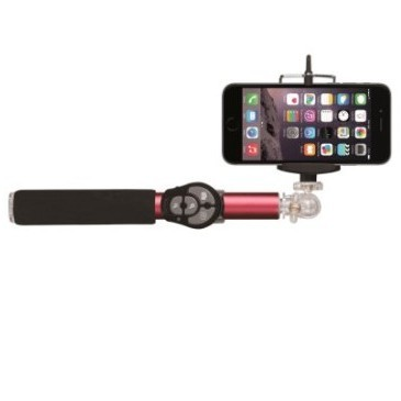 Селфи-монопод Hoox Selfie Stick 810 Series Red с пультом