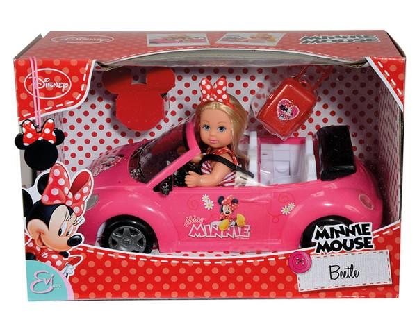 Кукла Еви minnie mouse кабриолет от Simba