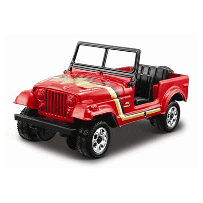 Сборная модель Jeep Wrangler
