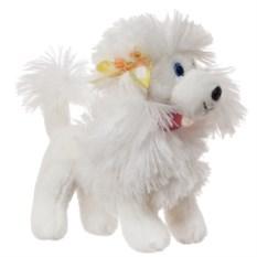Мягкая игрушка Собачка белого цвета (19 см)
