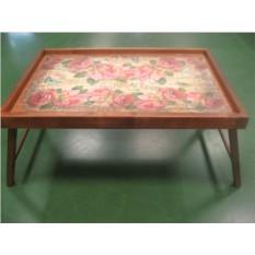Столик для завтрака в постели Розовая симфония