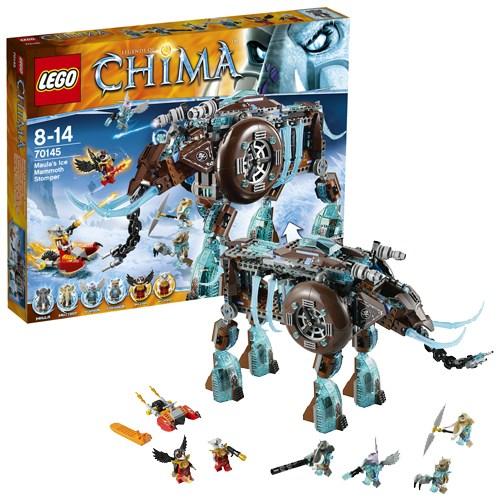 Конструктор Lego Legends of Chima Ледяной мамонт-штурмовик
