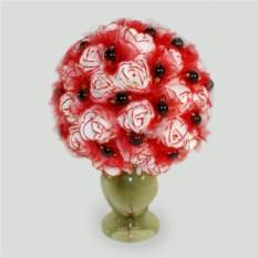 Цветы из граната Гранатовая мечта