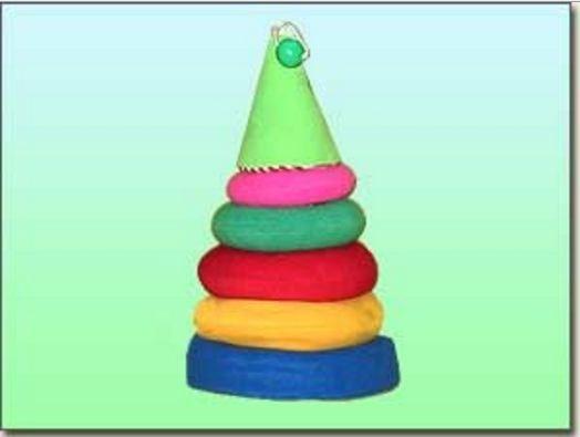 Развивающая игрушка Пирамидка