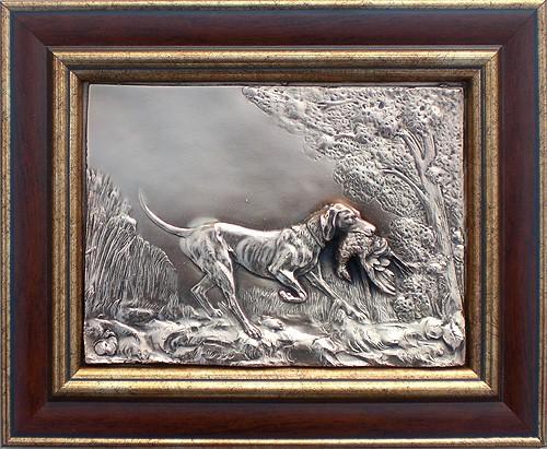 Картина Собака с тетеревом