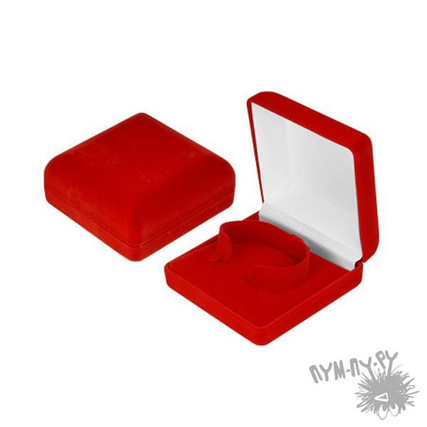 Бархатная  коробочка  Квадрат