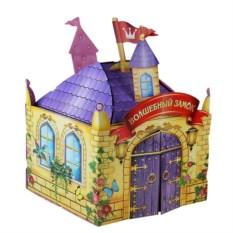Закрытый домик для кота Замок