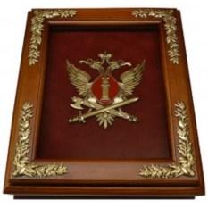 Деревянная ключница Эмблема ФСИН