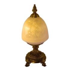 Светильник под бронзу (картина в плафоне, высота 33 см)