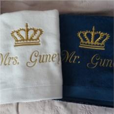 Именное полотенце Корона
