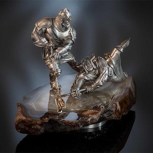Настольная композиция «Ледовый бой»