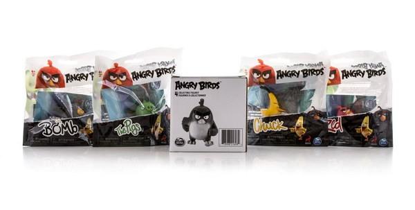 Набор из 4 сердитых птичек Angry Birds (SPIN MASTER)