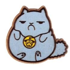 Значок WafWaf Обиженный котик