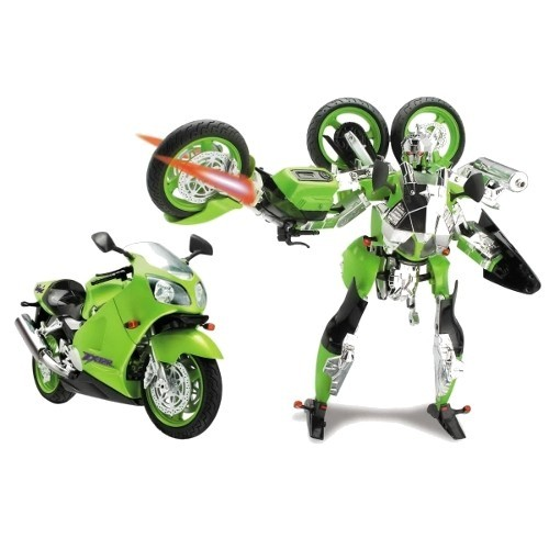 Робот игрушка - Kawasaki Ninja ZX-12R (HAPPY WELL)