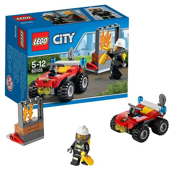 Конструктор Lego City Пожарный квадроцикл