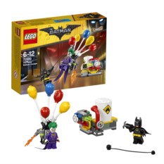 Конструктор Lego Movie Побег Джокера на воздушном шаре