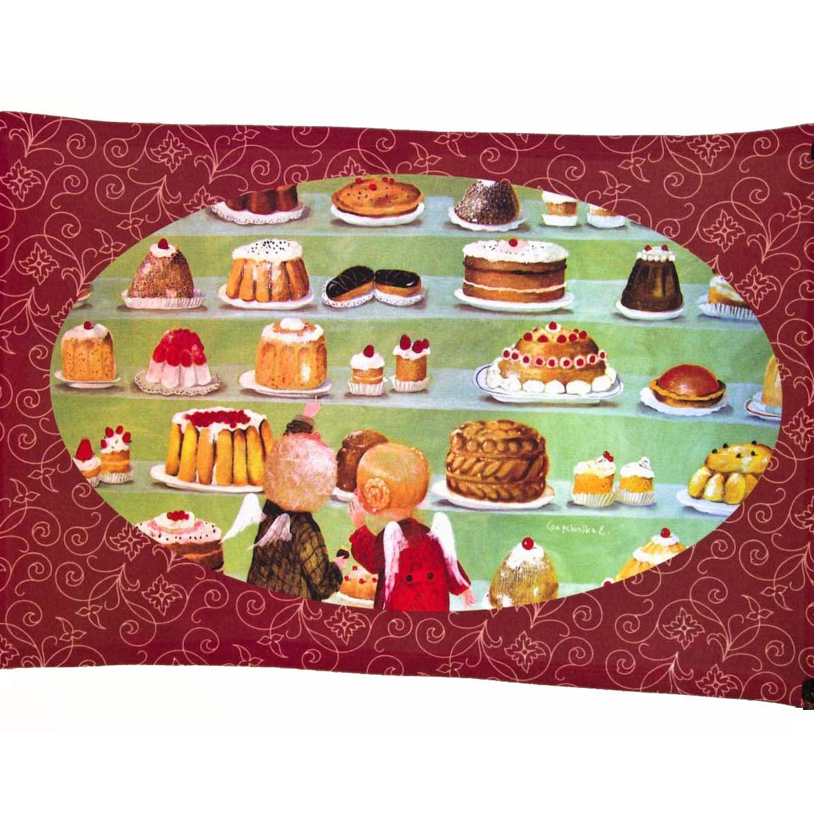Полотенце столовое «Нет рая бе шоколада»