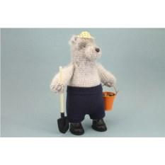 Авторская игрушка Медведь – дачник