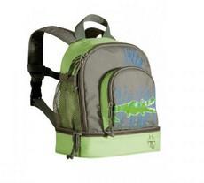 Оливковый рюкзак «Крокодил»