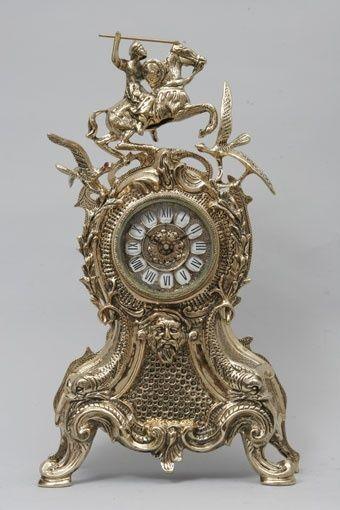 Каминные часы Virtus Всадник и птицы