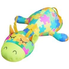 Игрушка-подушка антистресс Жираф Пазлик