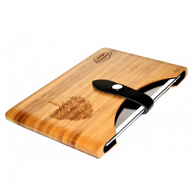 Деревянный чехол для iPad Mini Zhelberry Bamboo case