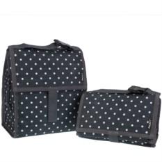 Сумка-холодильник для обеда Lunch bag Polka Dots