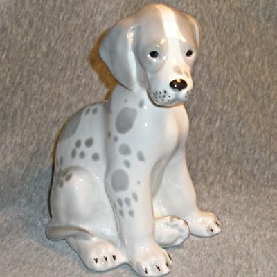 Винтажная статуэтка собака Далматинец