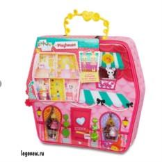 Домик-переноска с куклой Mini и аксессуарами