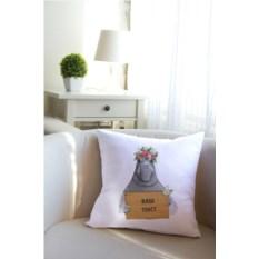 Декоративная именная подушка Ждун