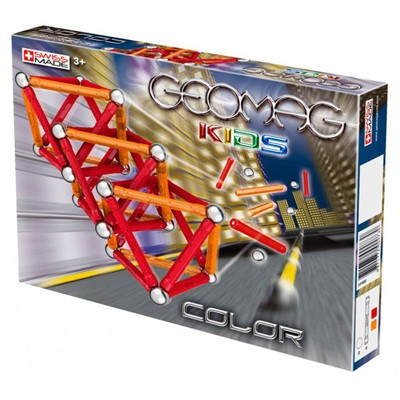 Магнитный конструктор GEOMAG KIDS Color 66