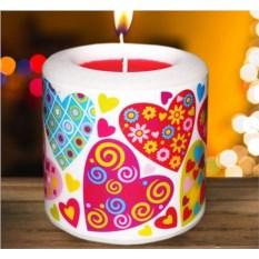 Новогодняя свеча «Сердечно поздравляю»