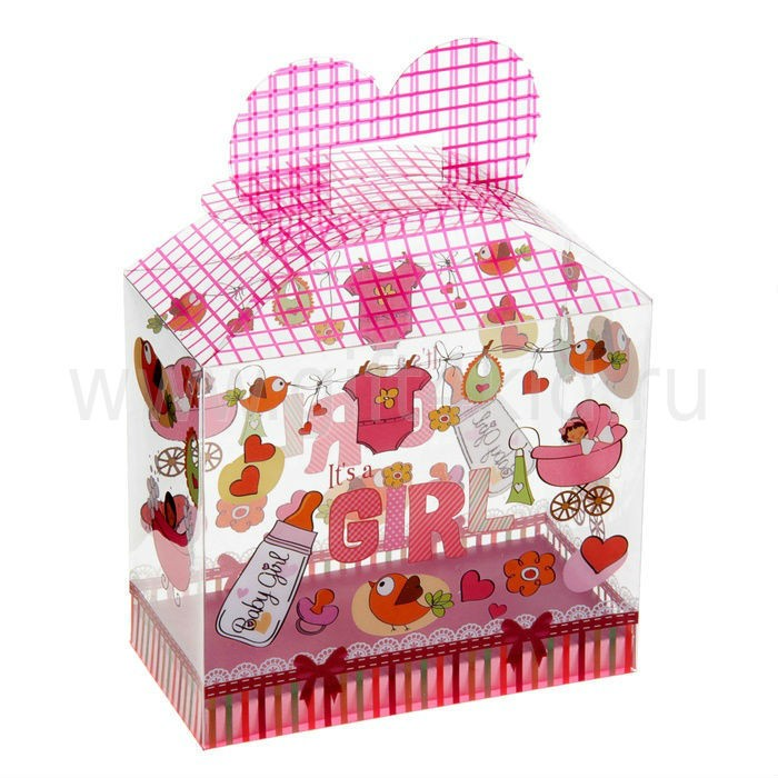 Коробка подарочная С рождением малыша