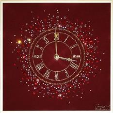 Часы с кристаллами сваровски Счастливое время