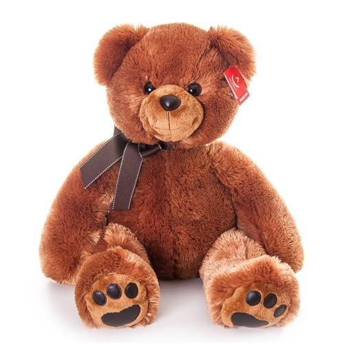 Мягкая игрушка Aurora тёмно-коричневый Медведь 70 см