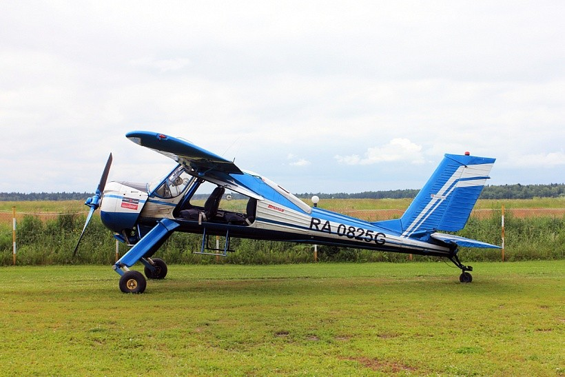 Обучение пилотированию, полет на Вильга-35М или АИ-10 «ИКАР»