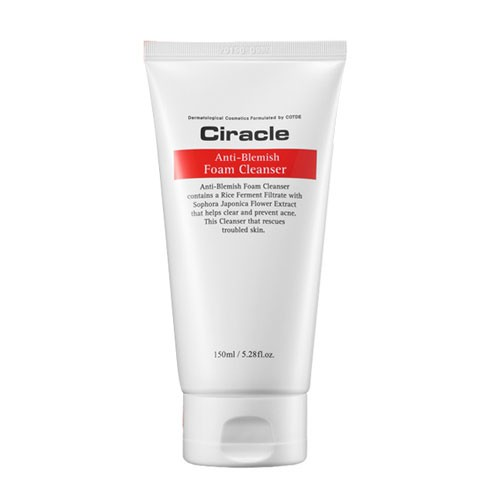 Пенка Ciracle Anti-blemish foam cleanser