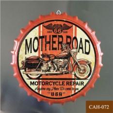 Декоративная пивная крышка Mother road