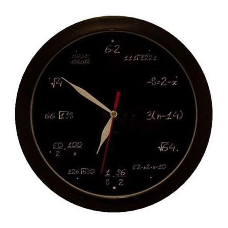 Часы «Математика»
