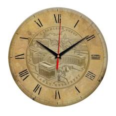 Античные круглые часы Санкт-Петербург. Казанский собор