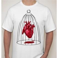 Футболка Сердце в клетке