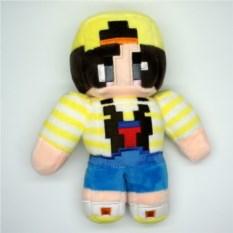 Мягкая игрушка Стив Story mode из Minecraft (20см)
