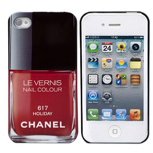 Чехол для iPhone 4/4S Chanel Holiday 617