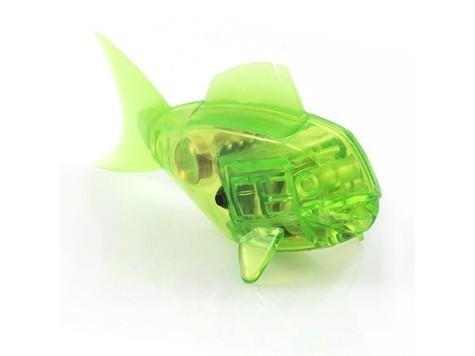 Робот-рыбка, светло-зеленая